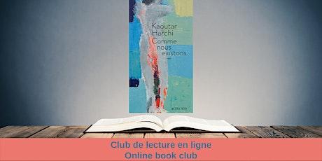 Club de lecture en ligne / Online Book club billets
