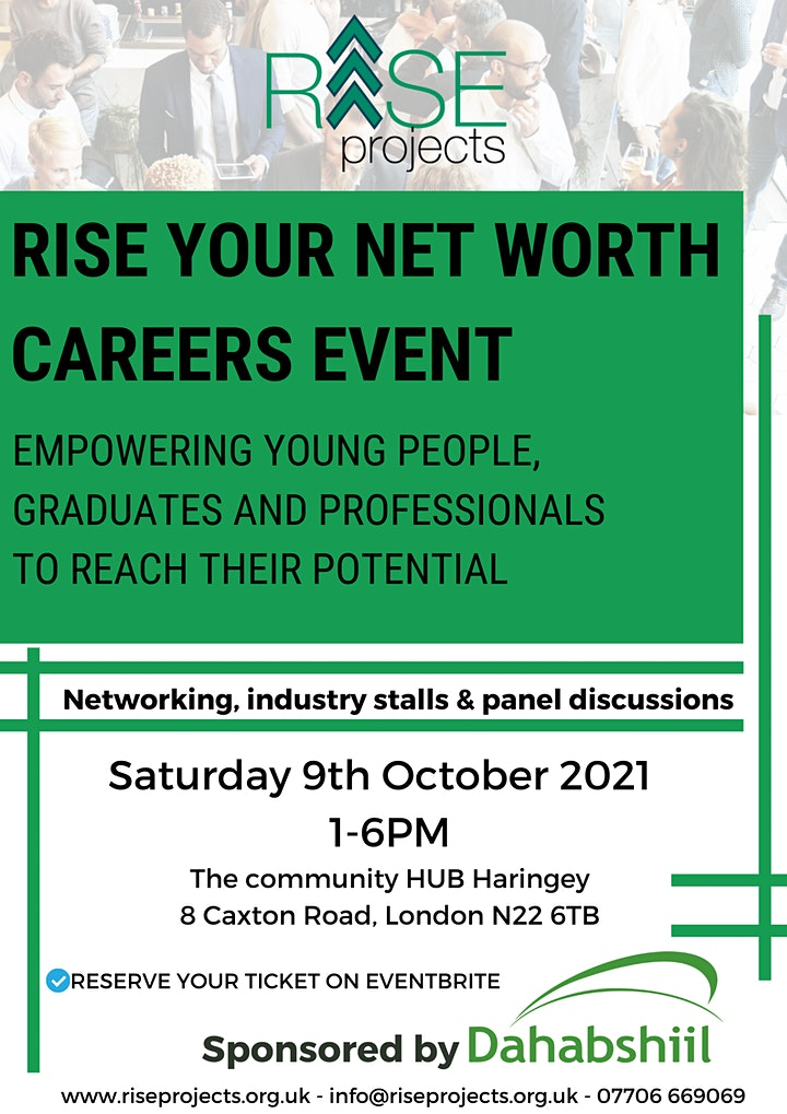 RISE Your Net Worth Careers Event image