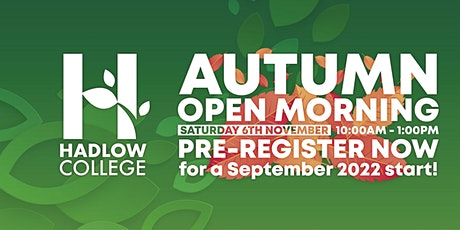 Hadlow Open Morning- Agriculture tickets