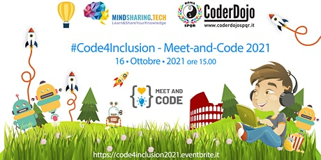 #Code4Inclusion {Meet&Code}  2021 - By MindSharing.tech biglietti