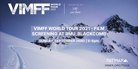 VIMFF Film Screening hosted by FATMAP tickets