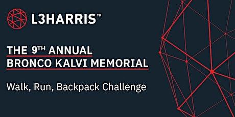 9th Annual Bronco Kalvi Memorial Walk/Run/Backpack Challenge tickets