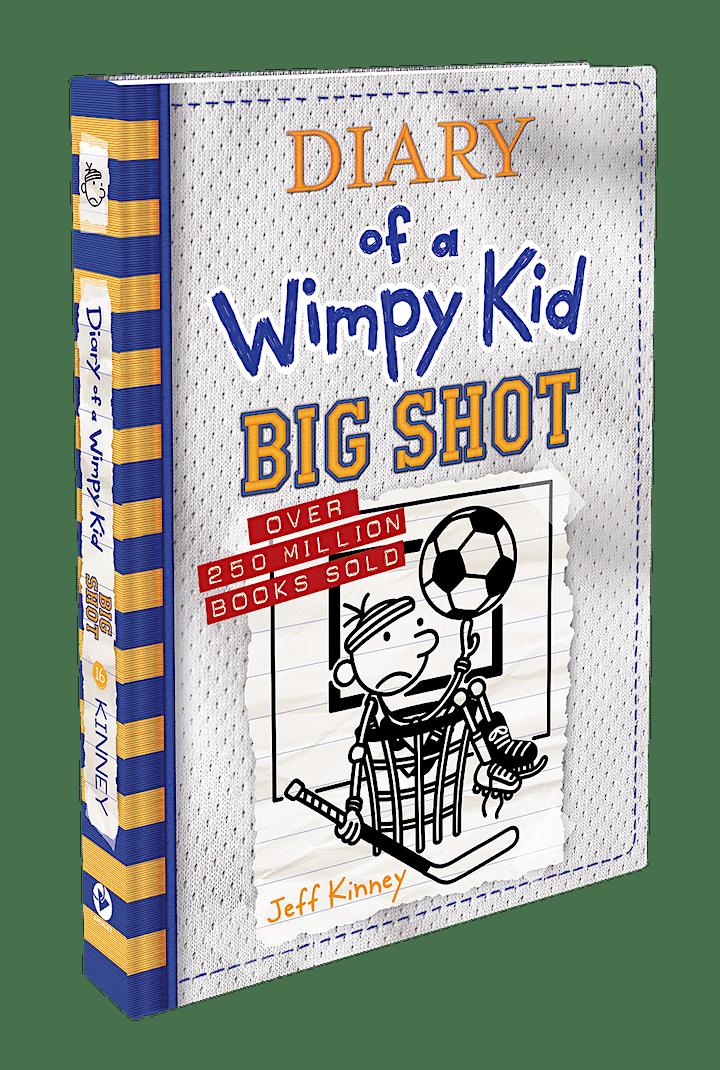 Jeff Kinney Big Shot Drive-Thru Tour image