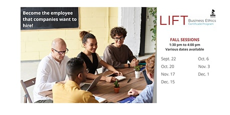 2021 LIFT Business Ethics Certificate Program tickets