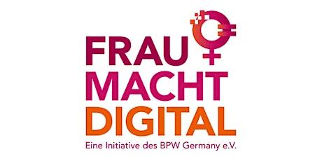 Podiumsdiskussion: FrauMachtDigital! Tickets