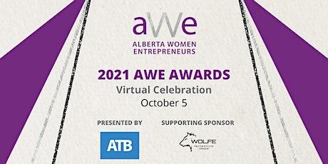 2021 Virtual AWE Awards tickets