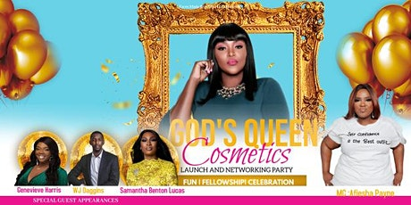 Gods Queen Cosmetics Launch  And Networking Party tickets