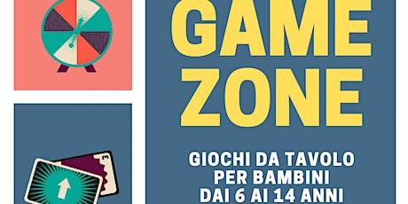 Game Zone - giochi da tavolo 6-14 anni biglietti