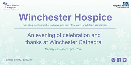 Winchester Hospice: Evening of celebration at Winchester Cathedral tickets