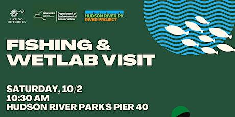 Latino Outdoors NYC | Fishing & Wetlab Visit tickets
