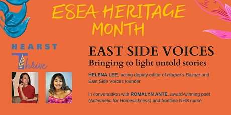 ESEA Heritage Month - East Side Voices: Bringing to light untold stories tickets