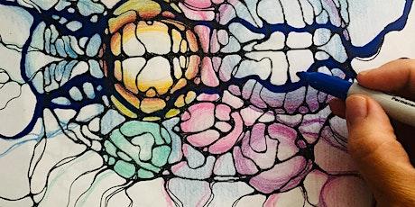 Attracting abundance Neurographic Art Class For Beginners Or Advanced tickets