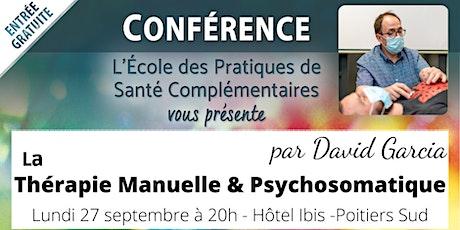 Conférence Thérapie Manuelle & Psychosomatique billets