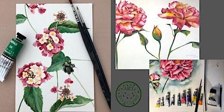 Traditional Botanical Illustration Workshop tickets