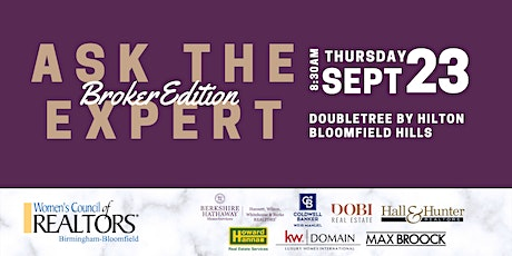 Ask The Expert | Broker Edition tickets