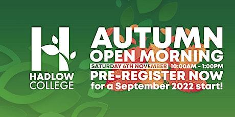 Hadlow Open Morning- Horticulture & Garden Design tickets