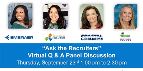 Ask the Recruiters  - Virtual  Q&A Discussion tickets