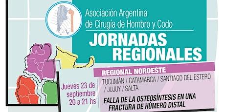 JORNADA REGIONAL NOROESTE de la Asociación Argentina de Hombro y Codo entradas