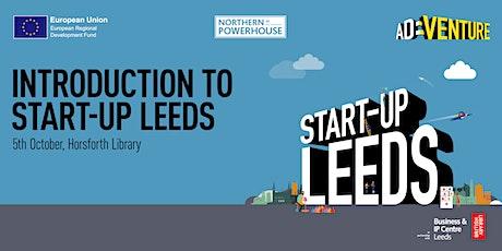 Start-up Leeds: introduction to Start-up Leeds tickets