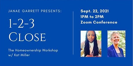 1-2-3 Close: The Homeownership Workshop tickets