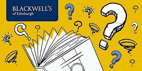 Blackwell's Book Quiz #149 tickets