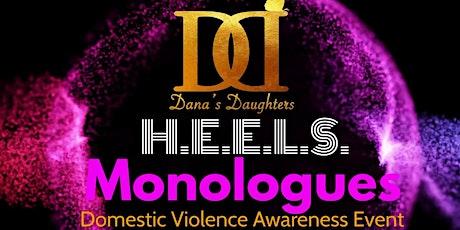 H.E.E.L.S. Monologues Domestic Violence Awareness Event tickets