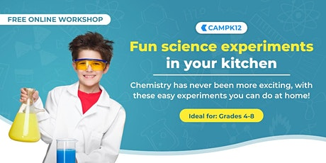 Young Scientists: Fun Guided Experiments with Stuff From Your Kitchen! tickets