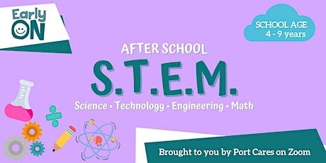 School Age S.T.E.M - Straw Rocket Launcher tickets