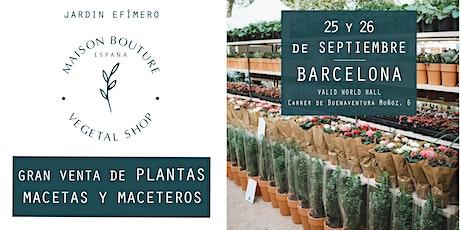 Barcelona // El Jardín Efímero de Maison Bouture entradas