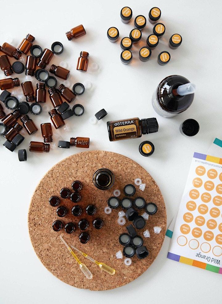 Image pour Atelier opportunité avec les huiles essentielles (LYON)