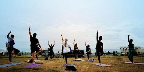 Outdoor Yoga in Brighton - Brunswick Square tickets