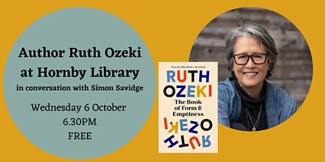 Author Ruth Ozeki at Hornby Library, Liverpool tickets