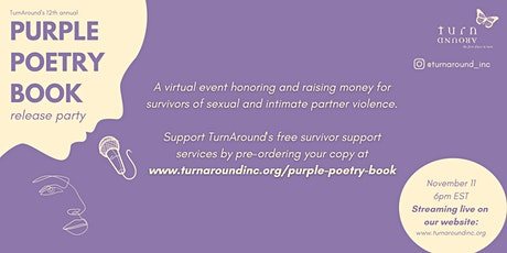 Purple Poetry Book Release Party tickets