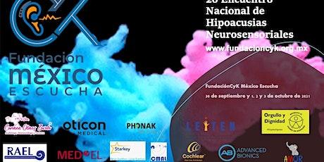 2o Encuentro Nacional de Hipoacusias Neurosensoriales y otras Hipoacusias entradas