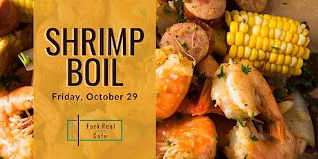 October Shrimp Boil at Fork Real Café tickets