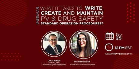 What it takes to write, create and maintain PV & Drug Safety SOPs? tickets