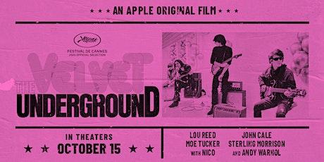 VELVET UNDERGROUND Documentary by Todd Haynes OPENING NIGHT tickets