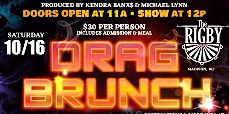 October Drag Brunch tickets