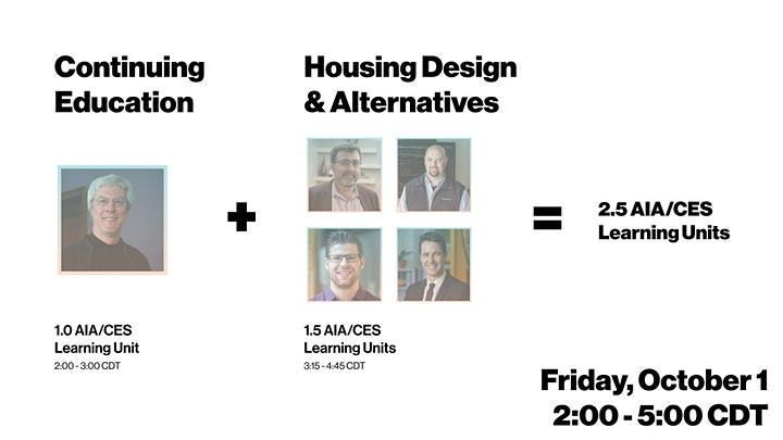 THINK TANK 2021 | HOMECOMING: Housing Stock & Design Alternatives image
