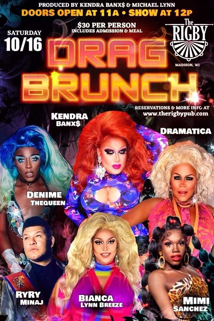 October Drag Brunch image