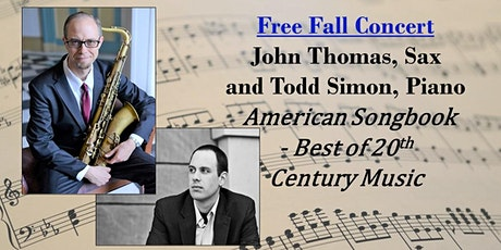 Free Piano & Sax Concert - American Songbook - Best of  20th Century Music tickets