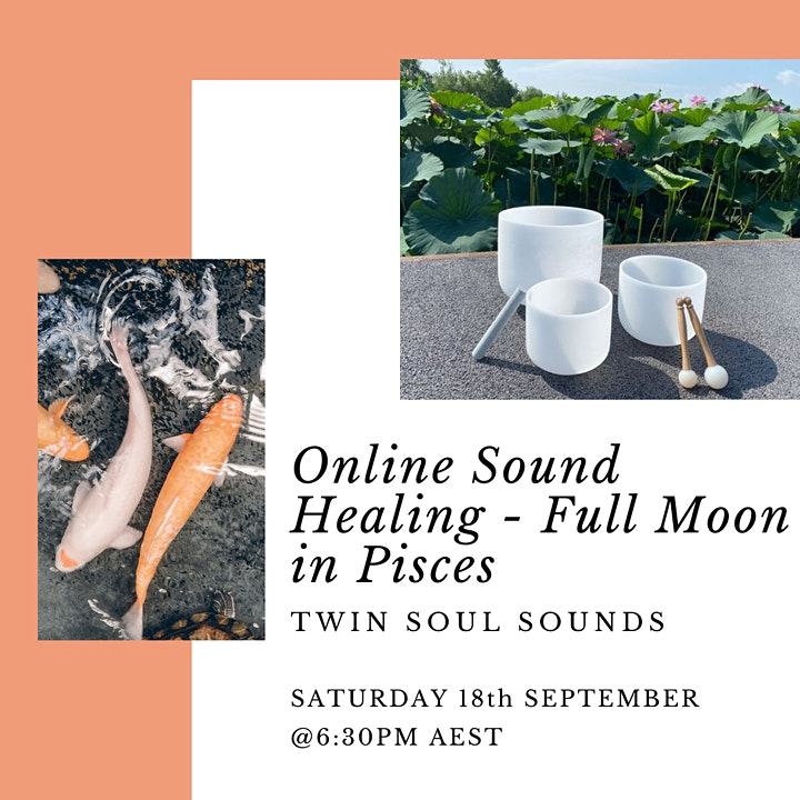 Full Moon in Pisces Sound Healing- Online image