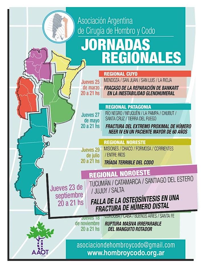 Imagen de JORNADA REGIONAL NOROESTE de la Asociación Argentina de Hombro y Codo