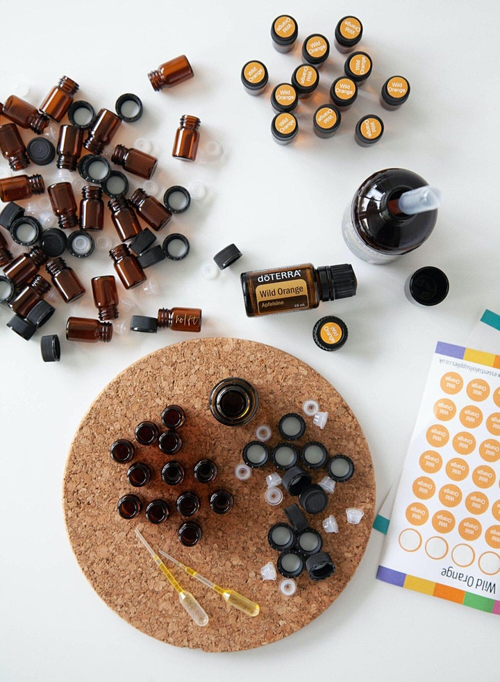 Image pour Atelier huiles essentielles et Symphonie des Cellules (LYON)