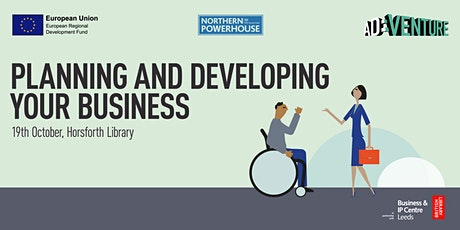 Start-up Leeds: planning and developing your business tickets