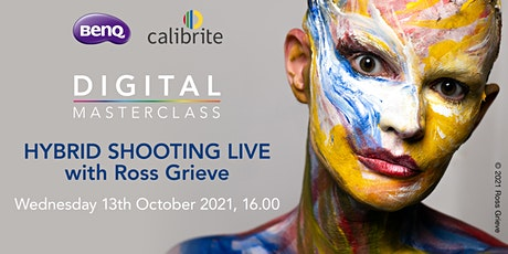 """Digital Masterclass """"Hybrid Shooting LIVE"""" with Ross Grieve tickets"""