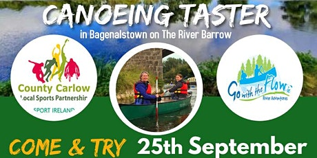 Bagenalstown  Activity Hub Canoeing Taster  Session tickets