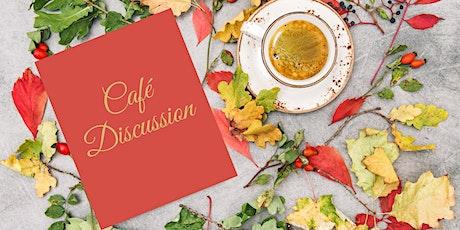 Online Café-Discussion en ligne tickets