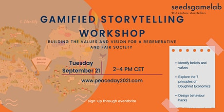 Gamified Storytelling Workshop tickets