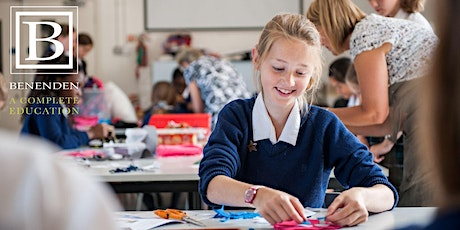 Benenden 11+ Open Morning  - Tuesday 8 March 2022 tickets